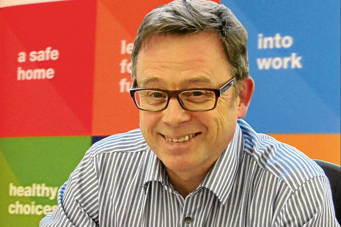 Ken Milroy Chief Executive of Aberdeen Foyer