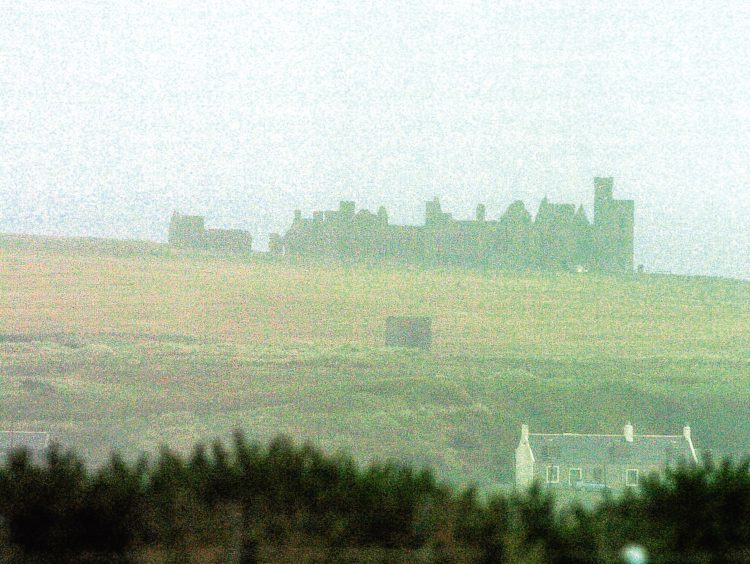 2007: This image reflects how Slains Castle might have inspired Stoker to create his scary vampire tale.