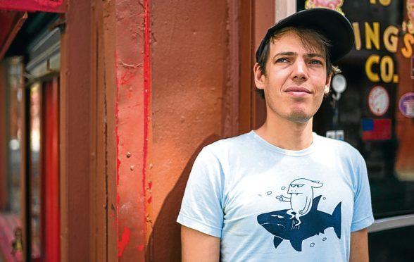 Jeffrey Lewis is looking forward to being back in Aberdeen.