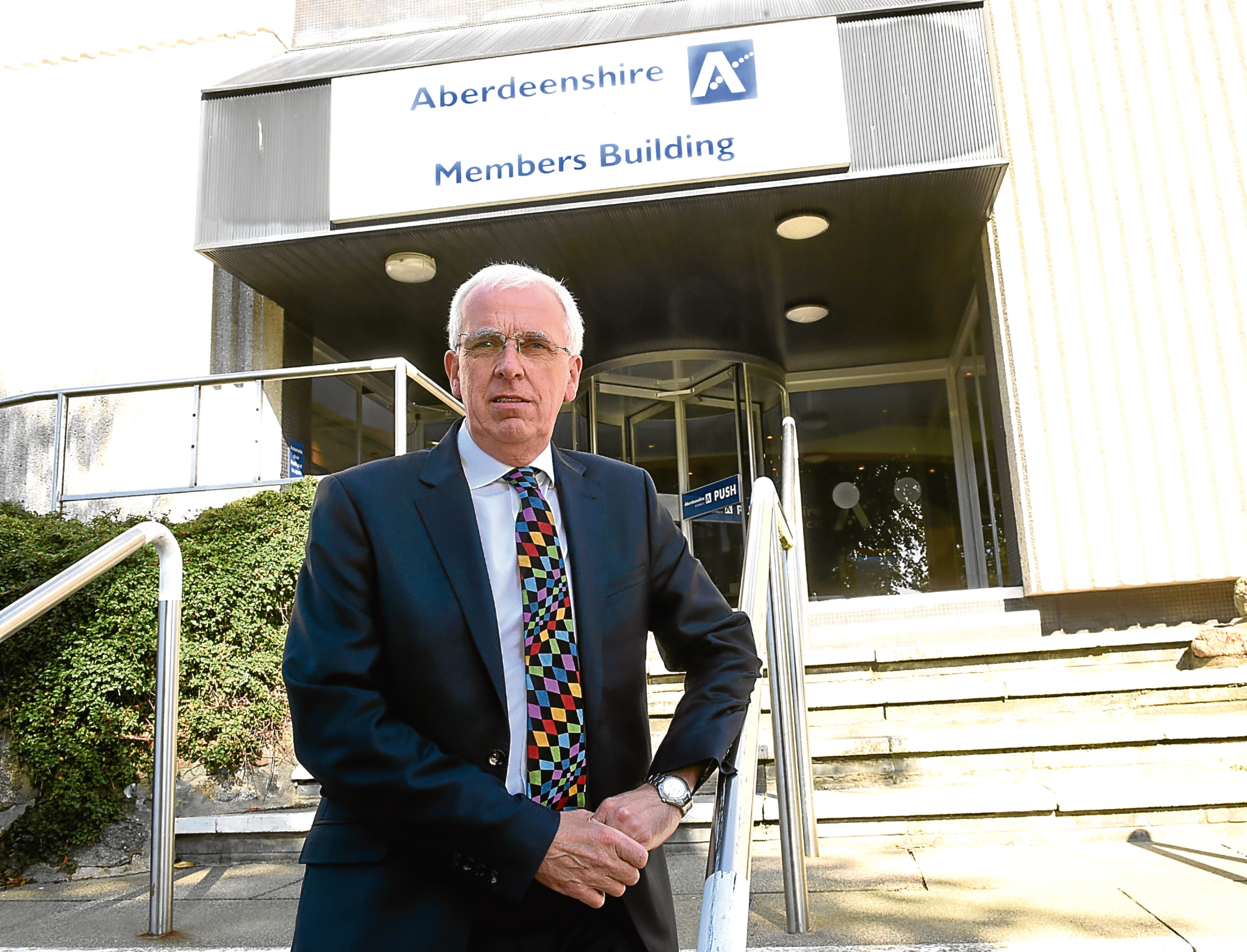 Aberdeenshire Council leader Jim Gifford