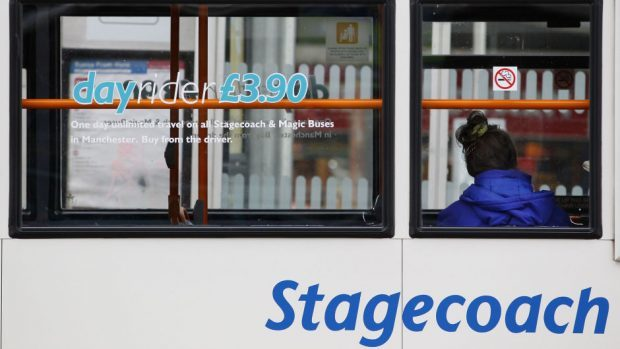 The number 35 service has been affected
