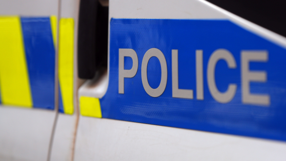 Police raided an address in Peterhead