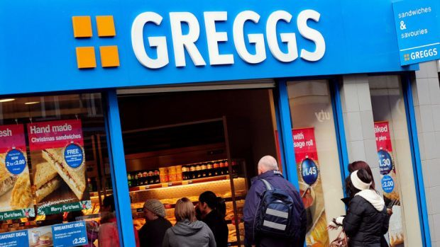 Greggs has reopened four of their north-east stores today