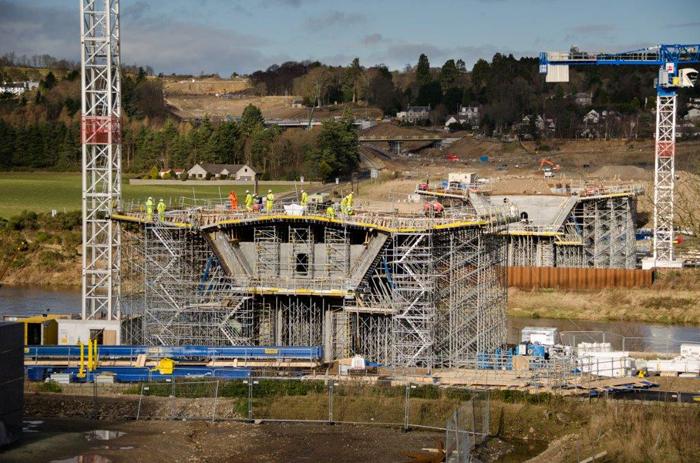 The new bridge. Source: Transport Scotland