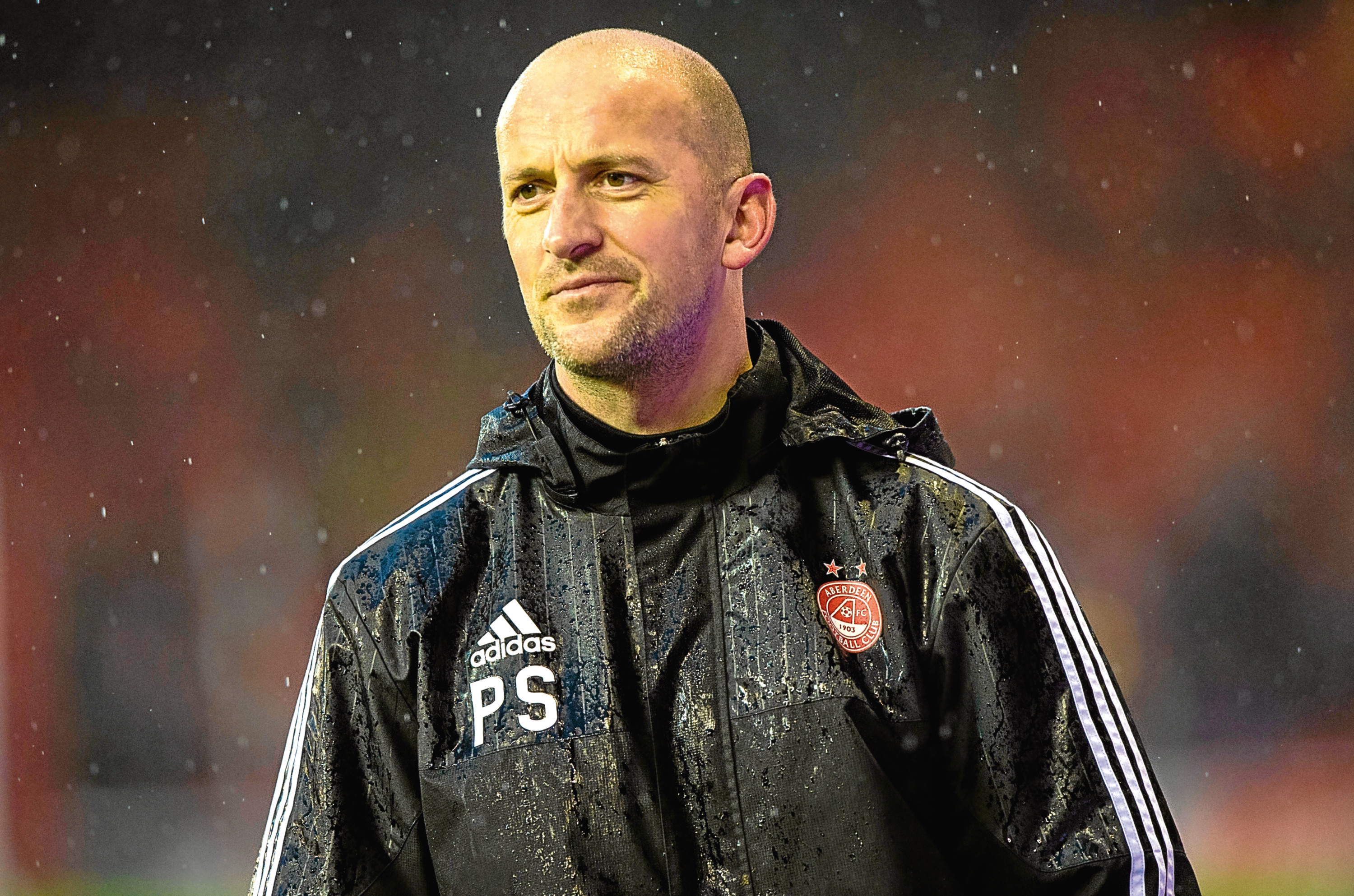 Aberdeen coach Paul Sheerin.