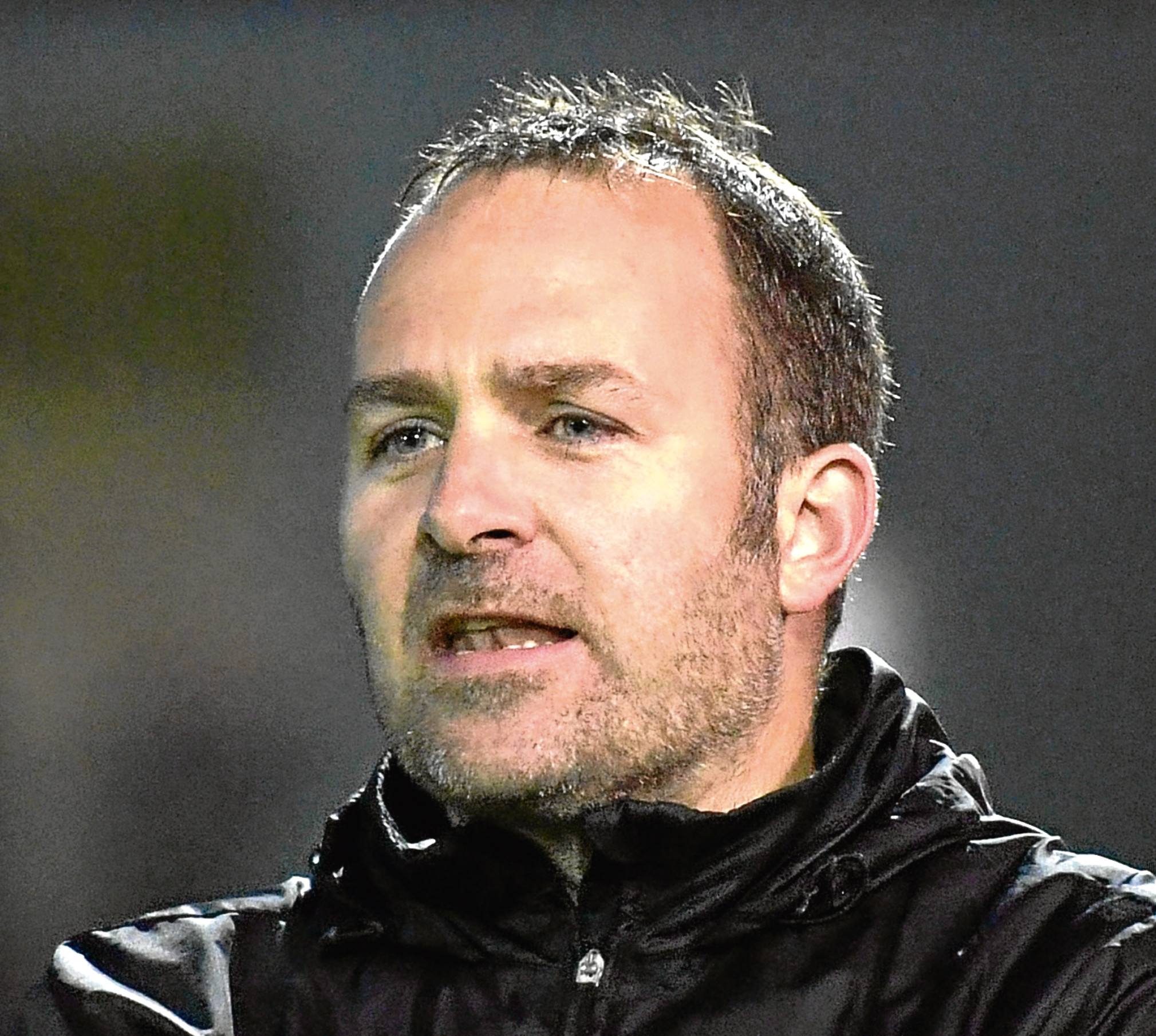 Formartine's interim manager Jerry O'Driscoll.