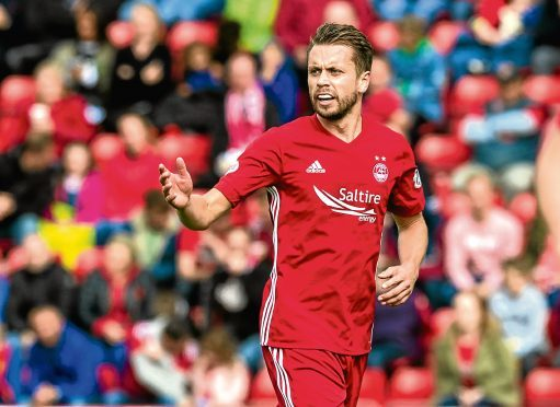 Aberdeen's Kari Arnason.