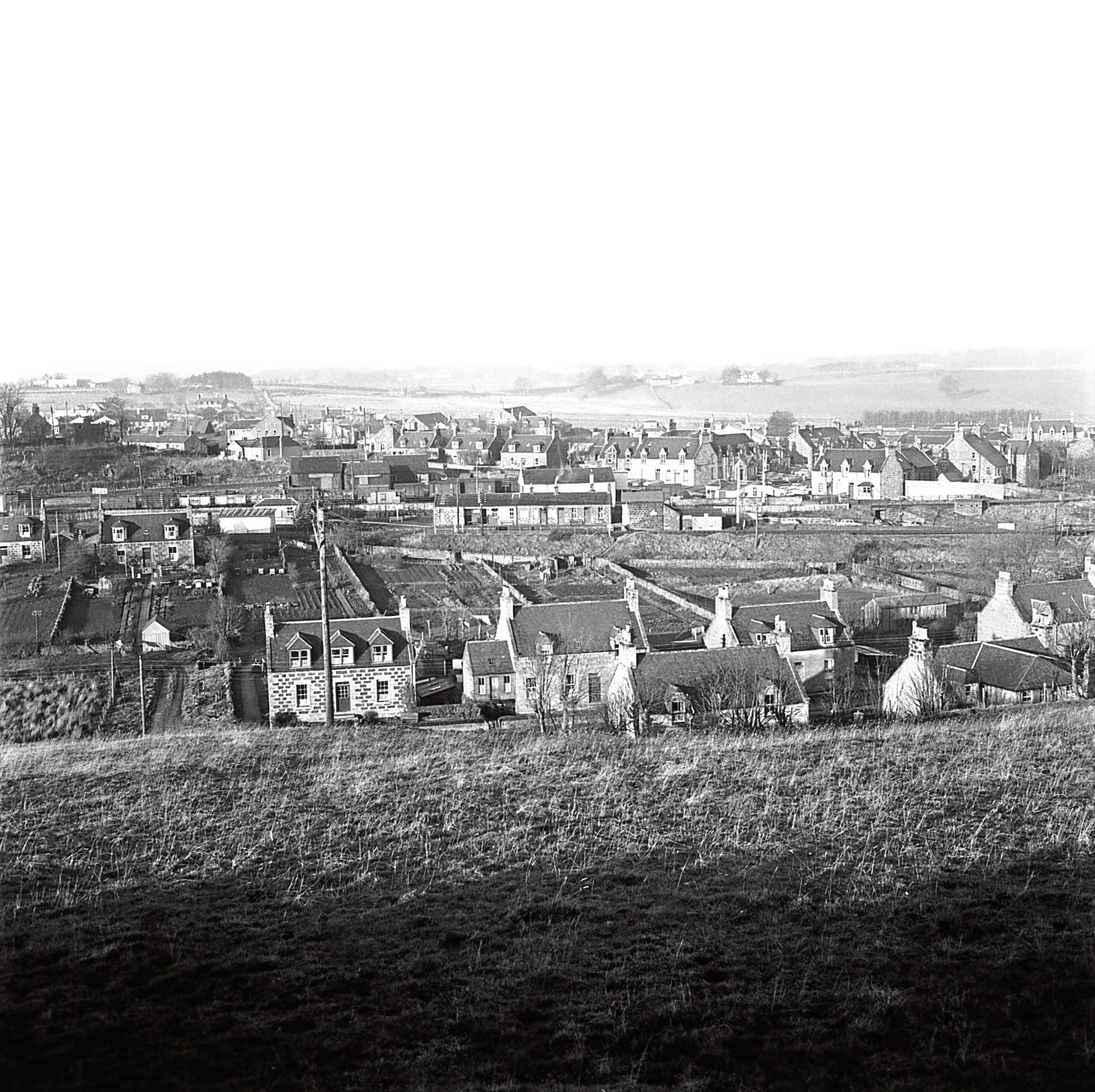 1963: The railway junction and village that grew up around it, seen in the 1960s