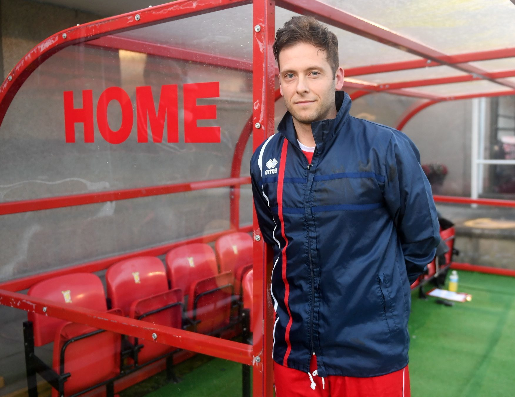 Formartine player-manager Paul Lawson.