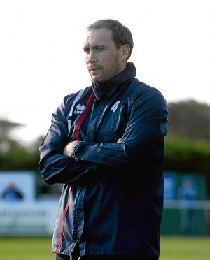 Formartine Assistant Manager Russell Anderson.  Picture by KATH FLANNERY