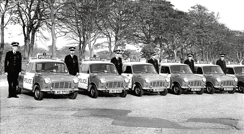 1968: Aberdeen's first Panda fleet went on show.