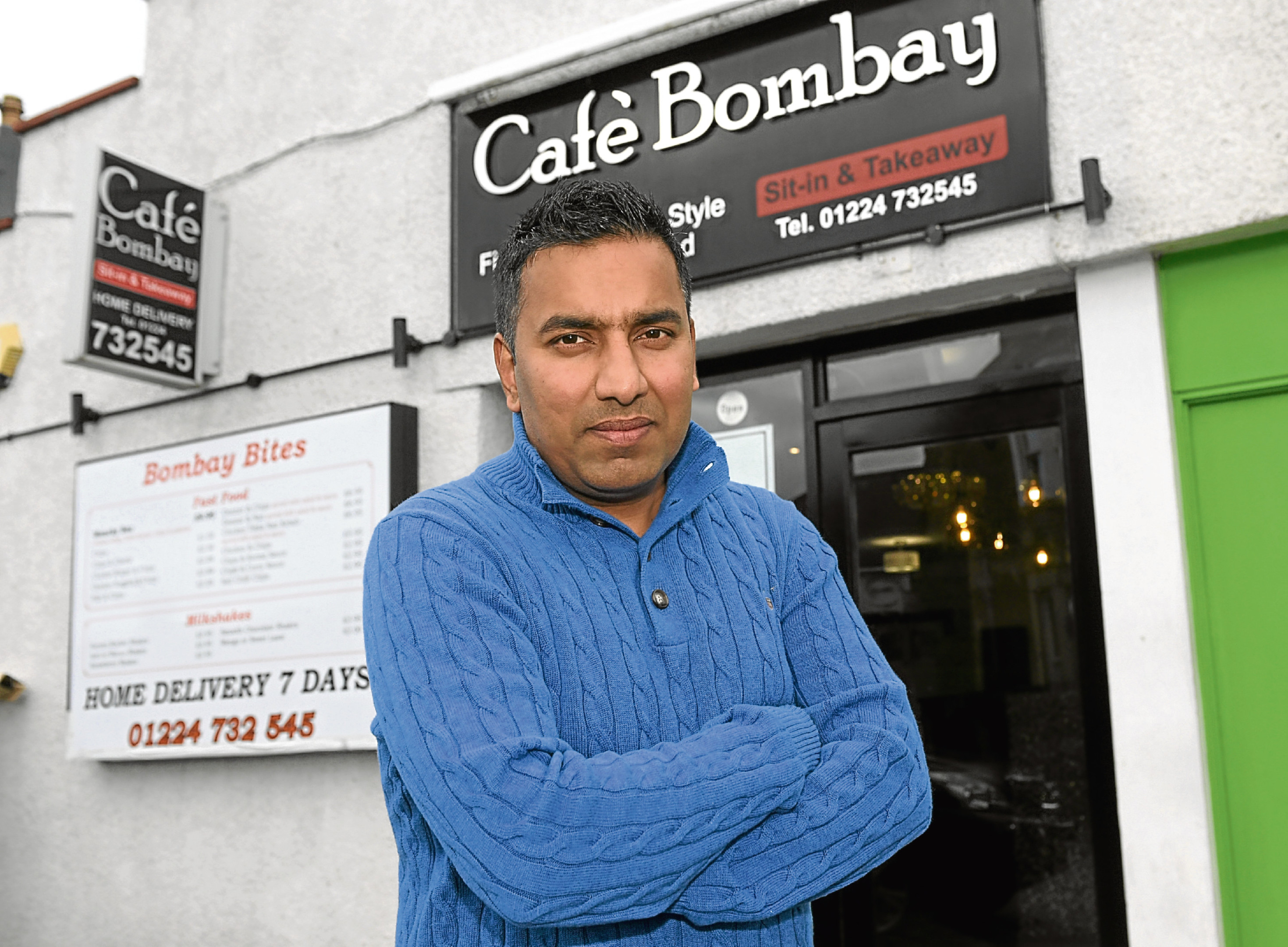 New owners have taken over Cafe Bombay, Peterculter.