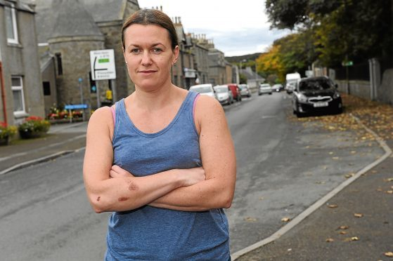Taryn Young is calling for a pedestrian crossing in Newburgh after she was hit by a car last week.