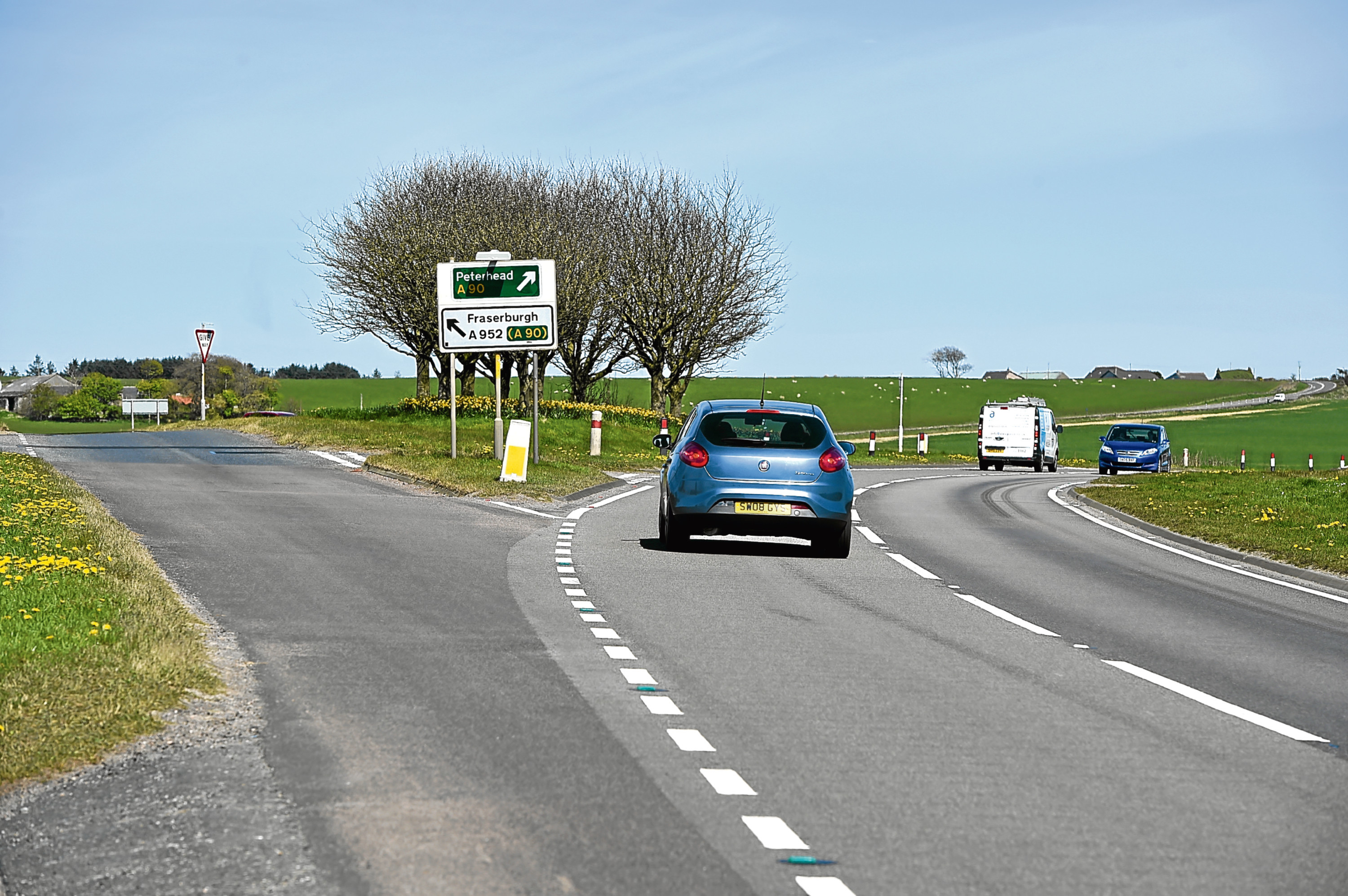 Toll of Birness, on the A90 near Ellon.
