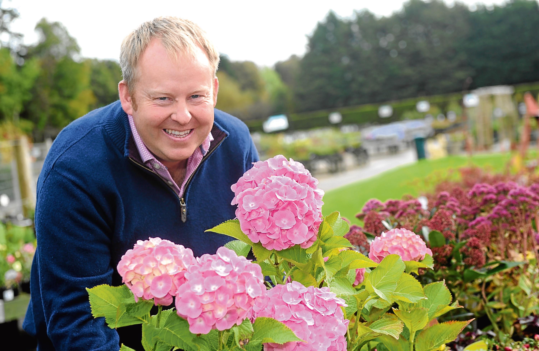 Simon Fraser of Ben Reid Garden Centre