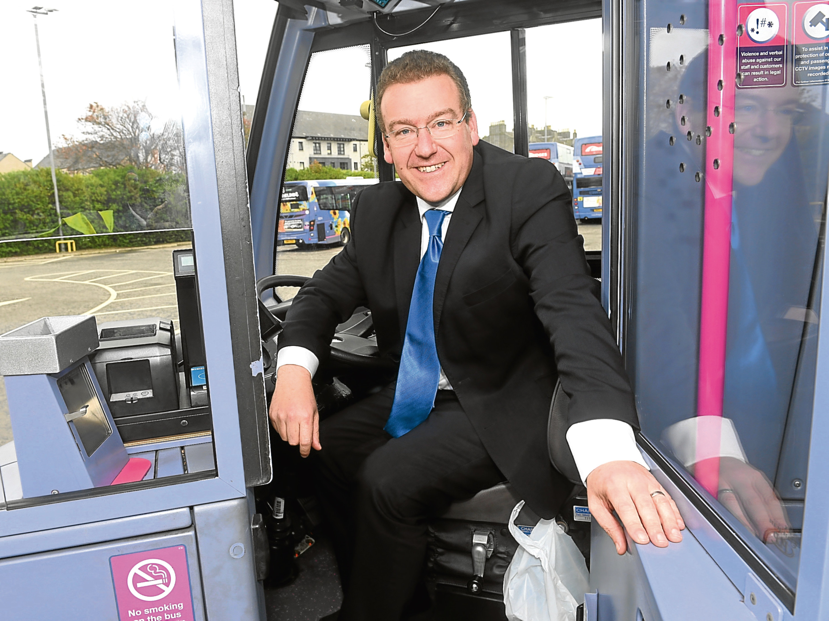 Andrew Jarvis, the new MD of First Bus in Scotland