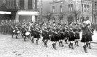 The Gordon Highlanders in St Valery, France.