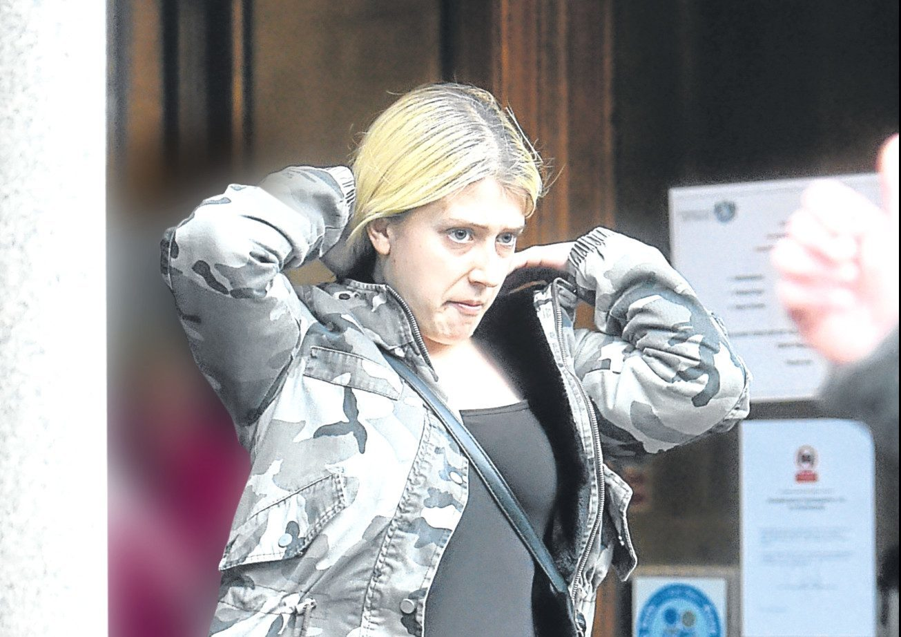 Stephanie Fallon appeared at Aberdeen Sheriff Court