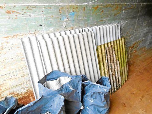 Asbestos in Kincorth depot
