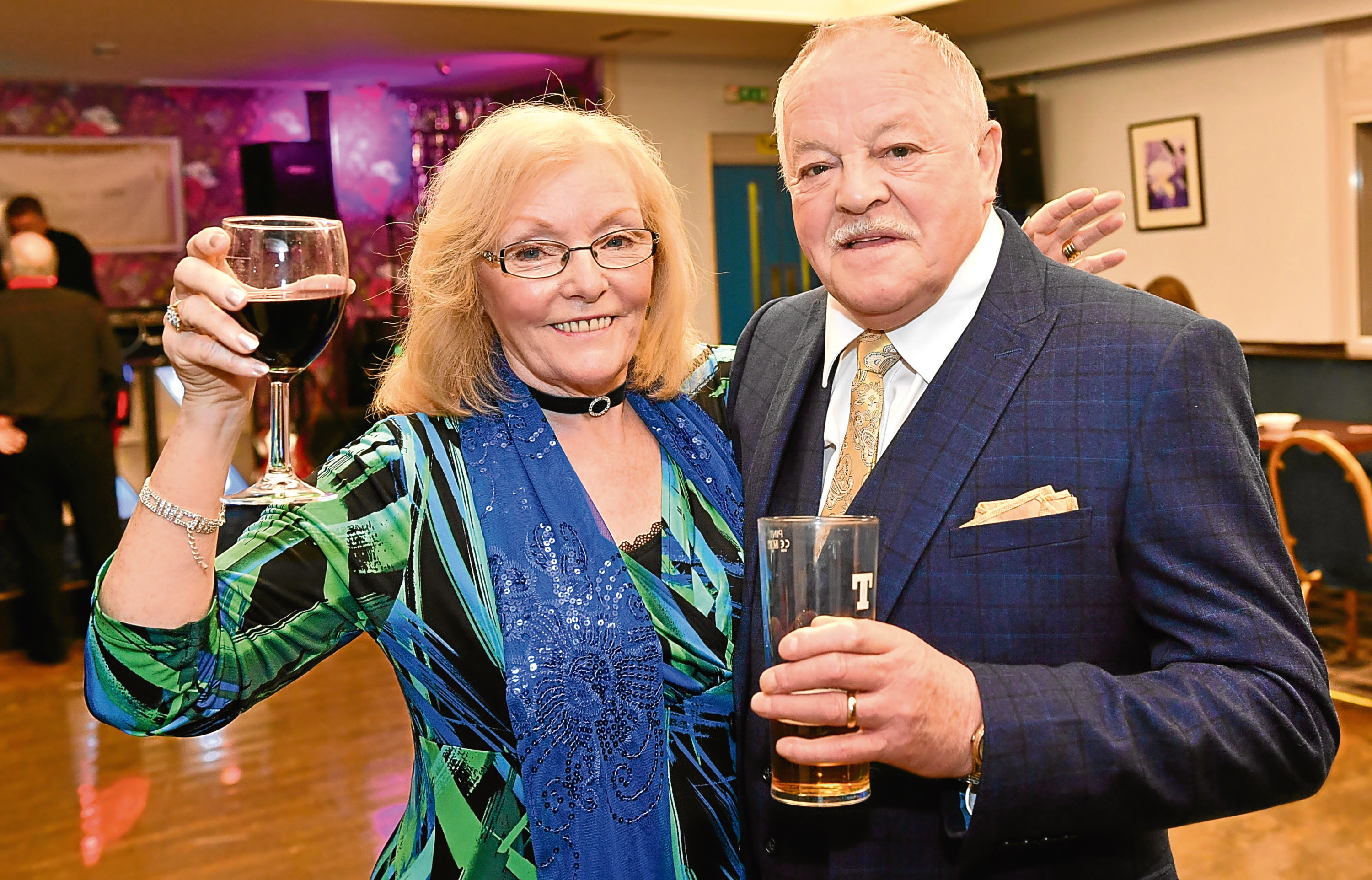 Trish and Billy Colbert celebrated their golden wedding anniversary with a party at the RUA Club.