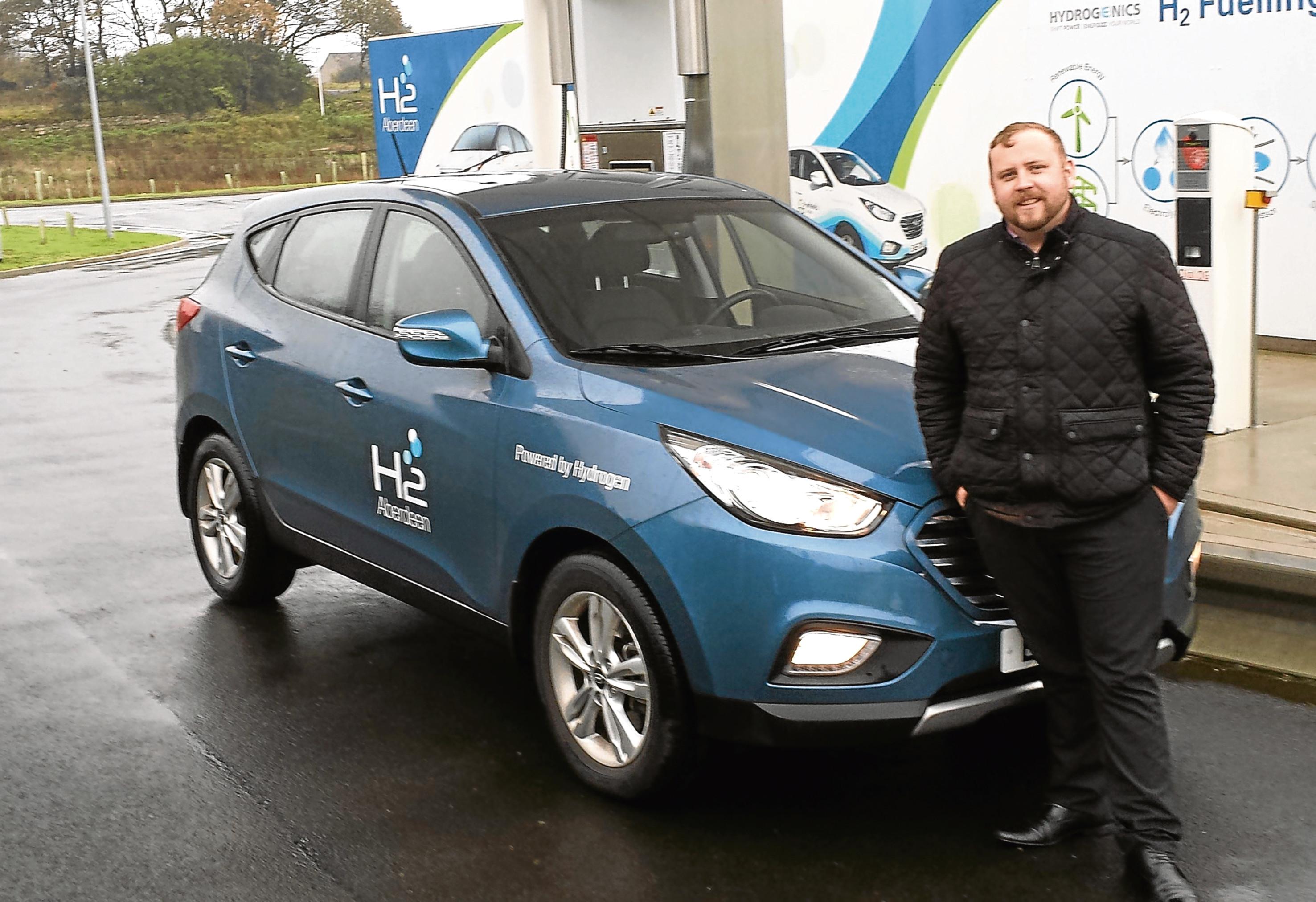 Aberdeen Taxis director Chris Douglas