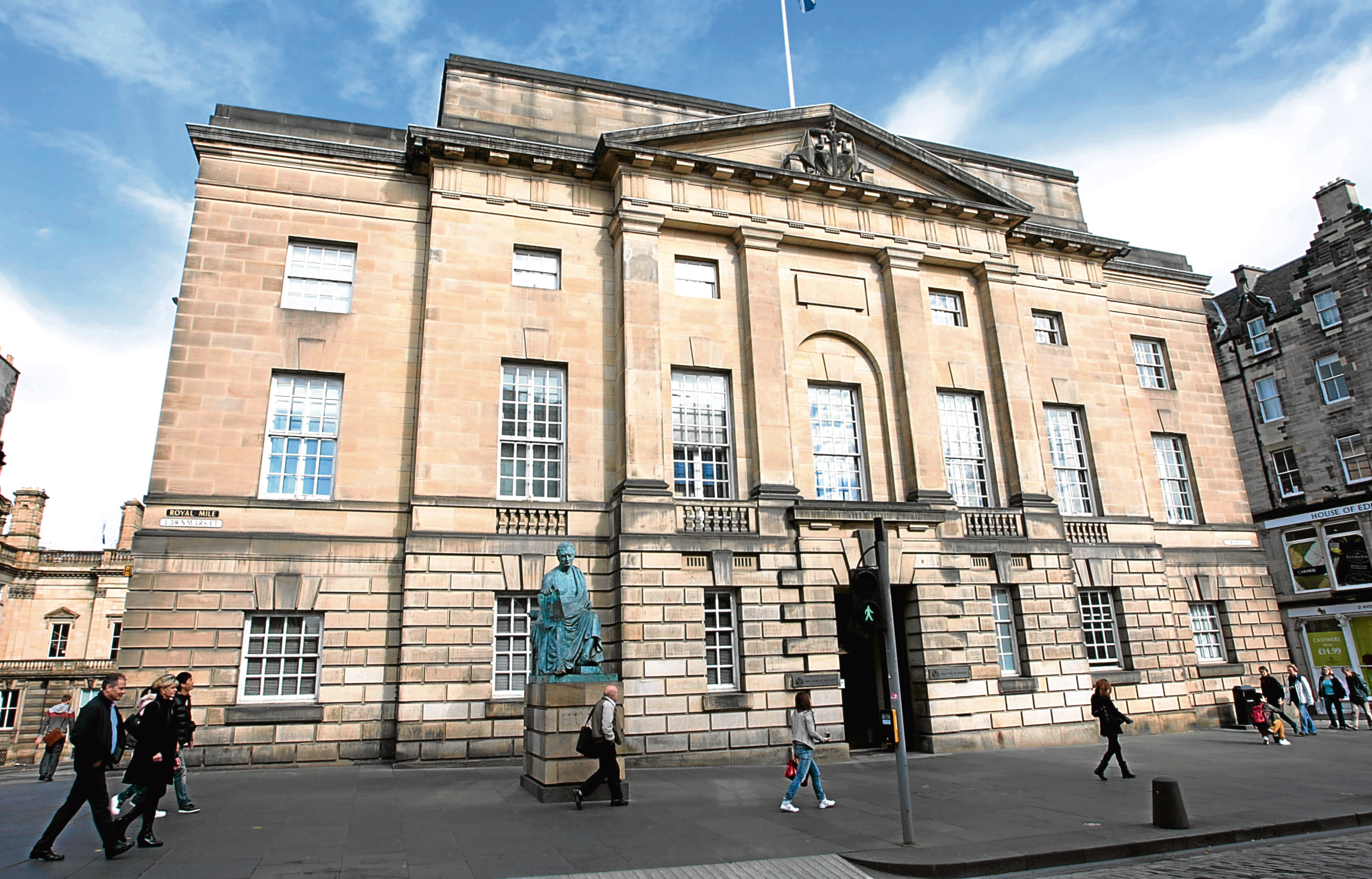 Martin Wood was jailed at the High Court in Edinburgh.