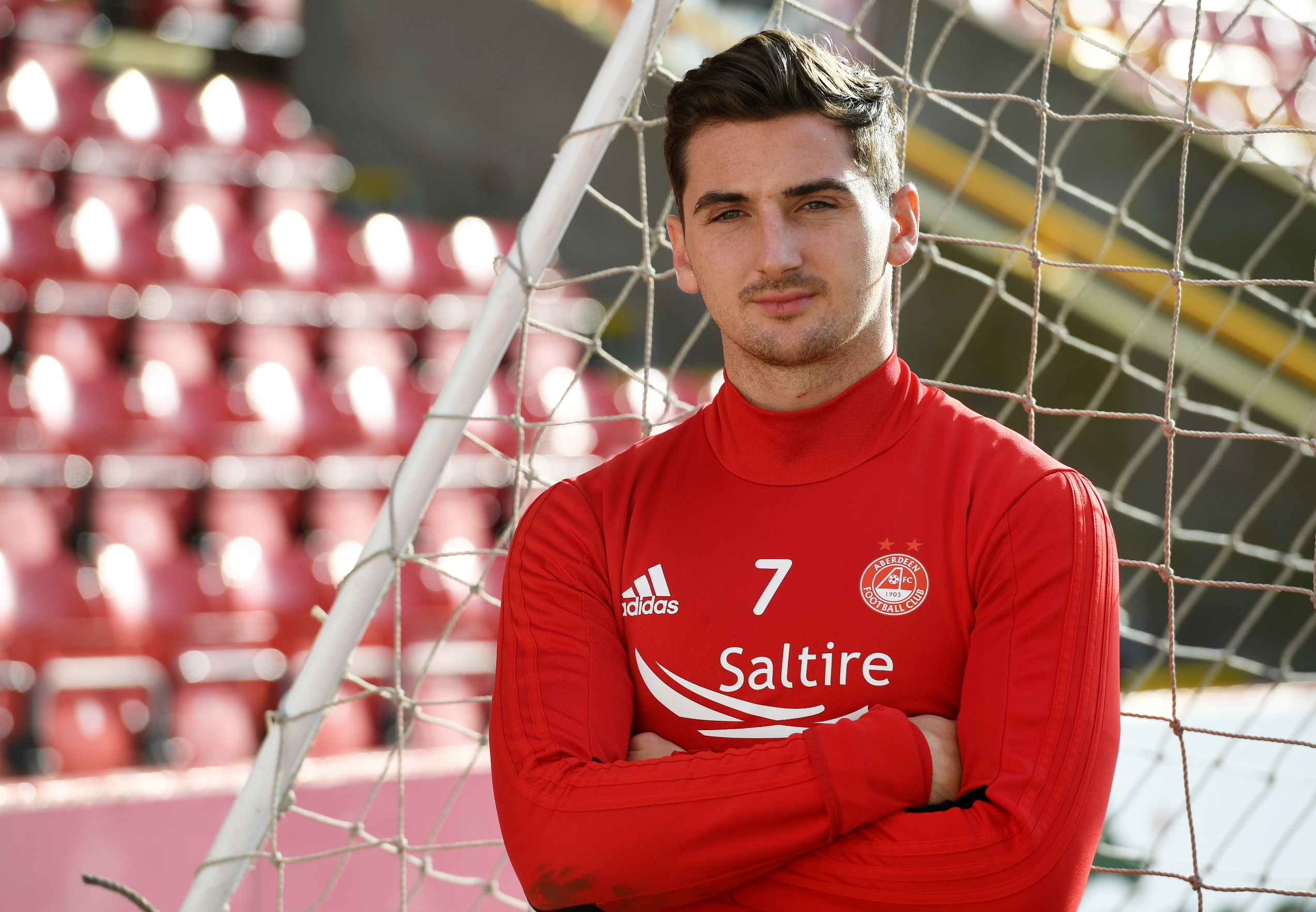 Kenny McLean netted a penalty for Aberdeen.