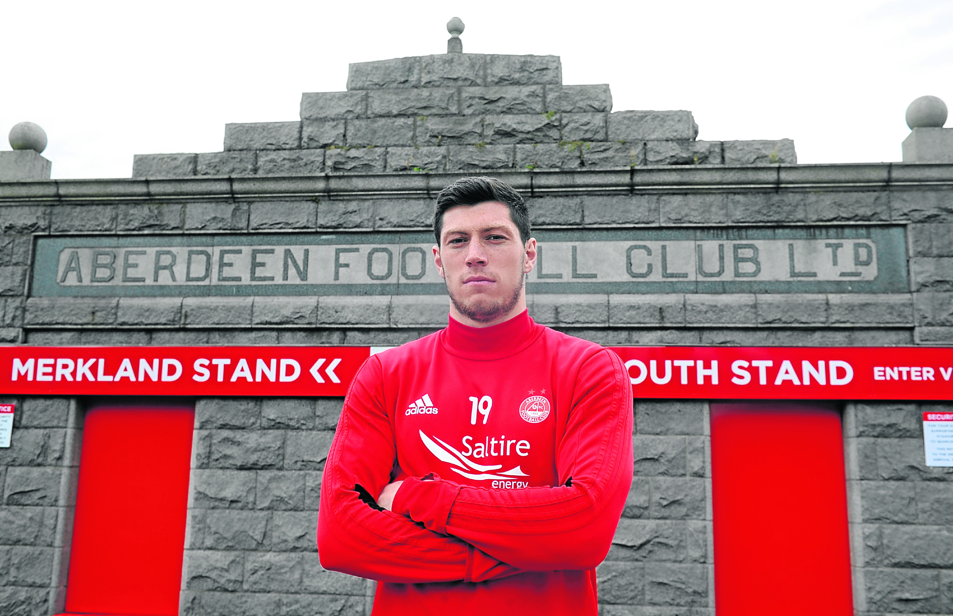 Scott McKenna earned his second Scotland cap in starting against Hungary in Budapest.