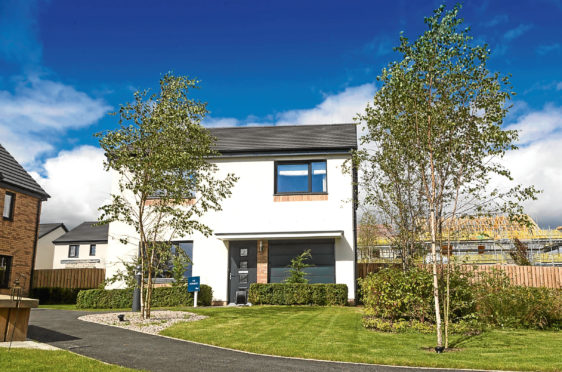 Countesswells housing development in Aberdeen