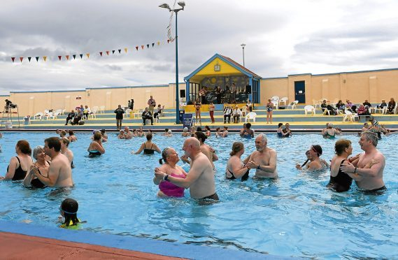 Stonehaven's Open Air Pool