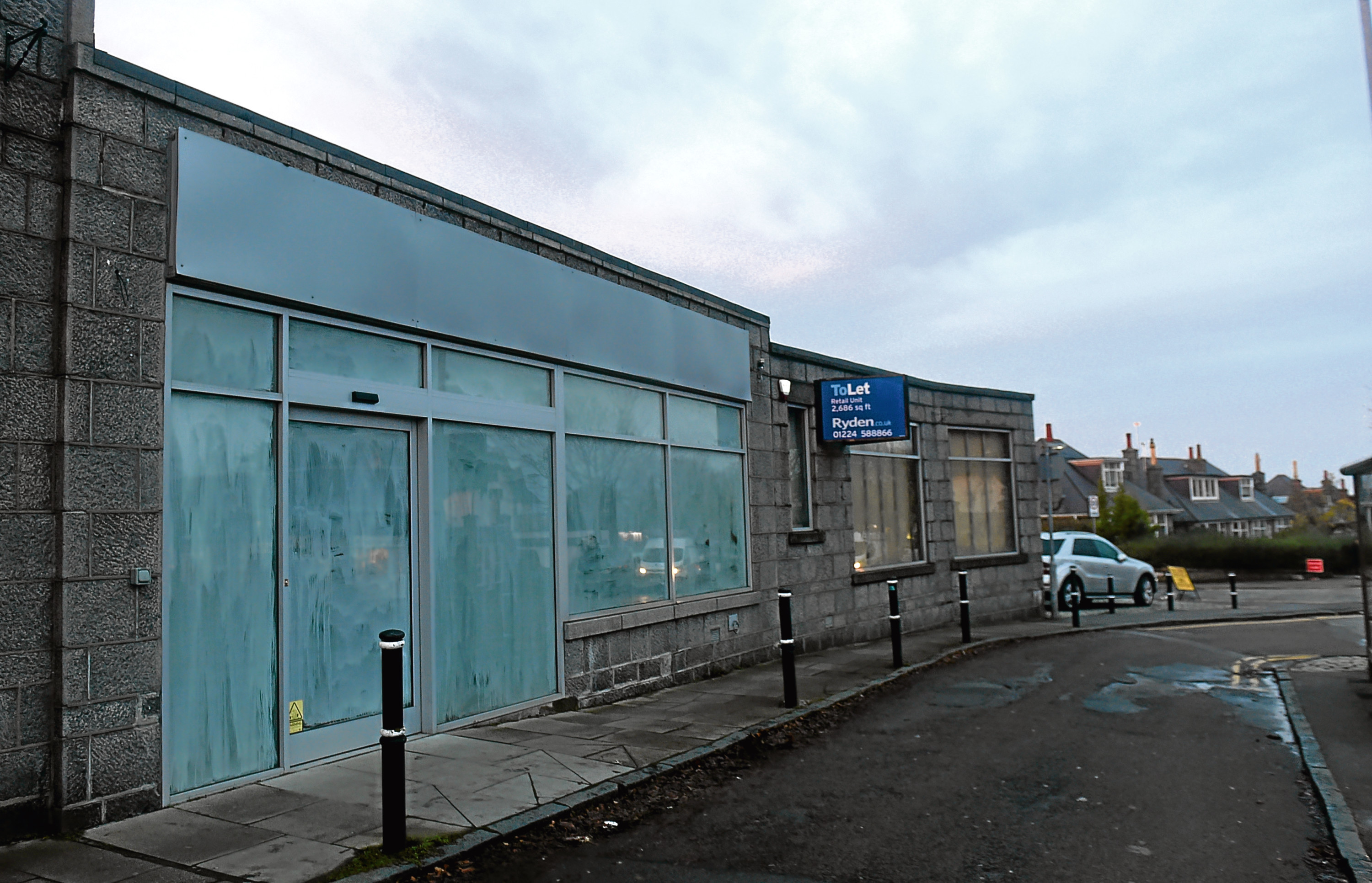 The site on 70 Countesswells Road, Aberdeen.