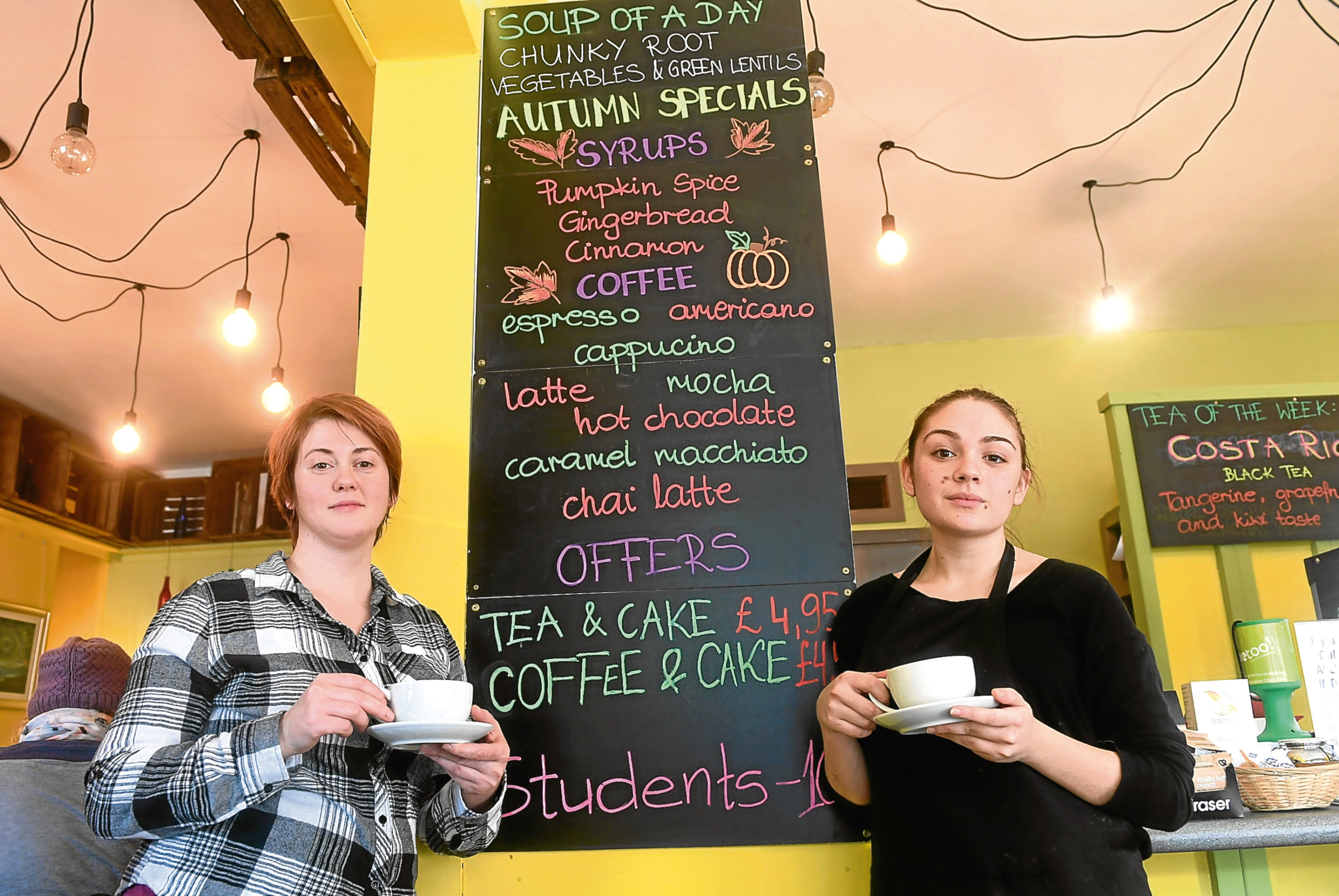 Tea Zone in Justice Street, Aberdeen, is closing down on Sunday