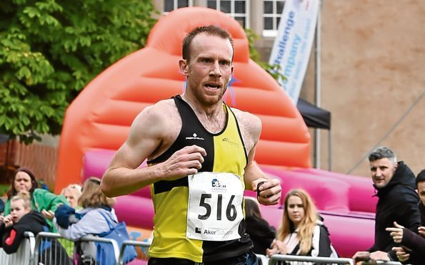 Runner Kyle Greig