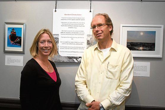 Alison Stuart and Erik Dalhuijsen.