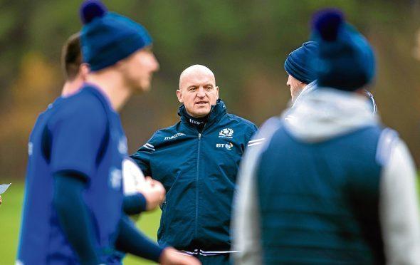 Scotland coach Gregor Townsend.