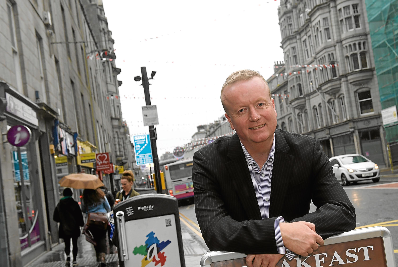 CEO of Aberdeen Inspired Adrian Watson.
