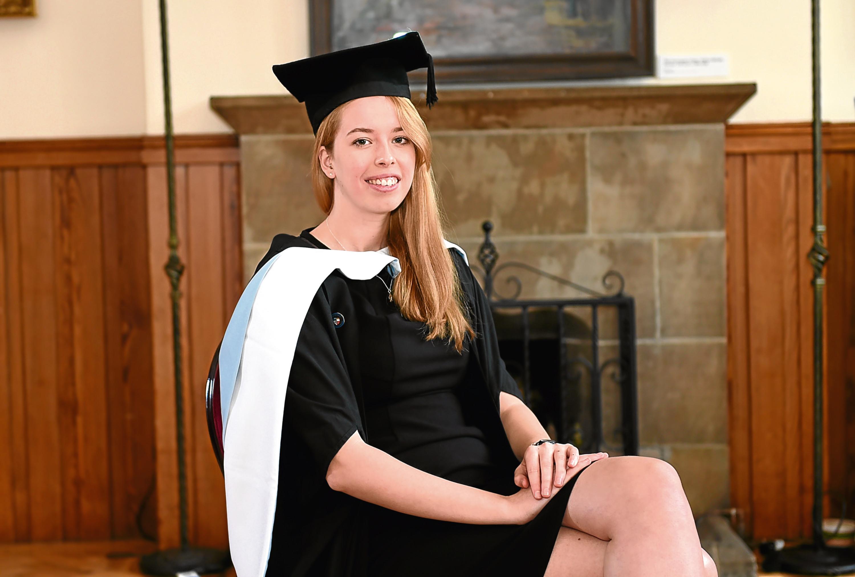 Natalie Innes, graduating with LLM Criminal Justice.