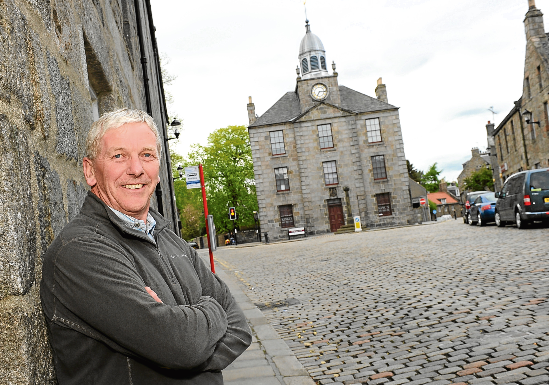 Old Aberdeen Community Council chairman Gordon Mutch.