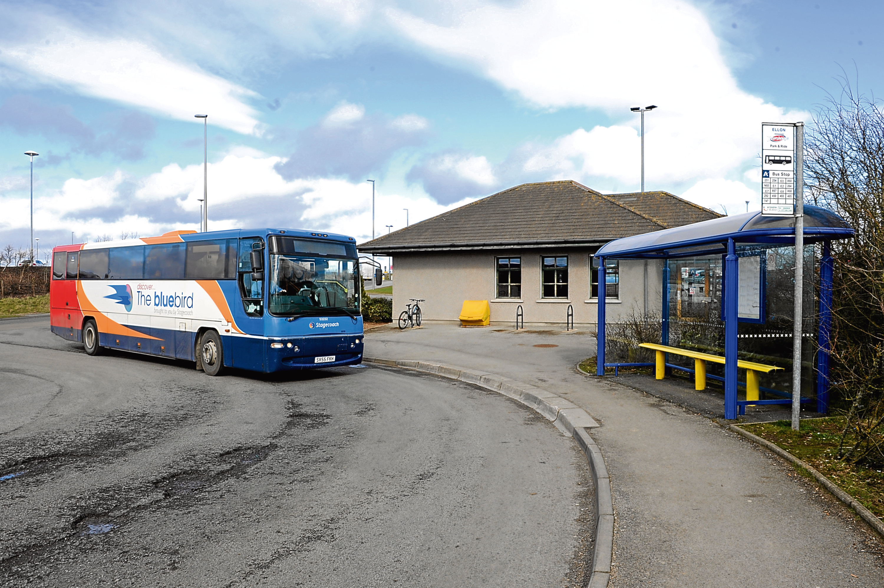 The Park and Ride in Ellon