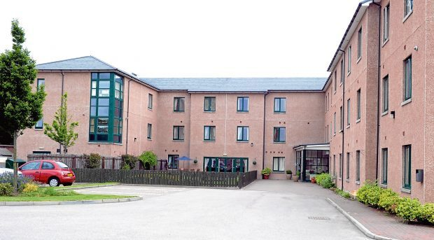 Locator picture of Grandholm Care home, Grandholme Drive, Aberdeen.  Picture by JIM IRVINE        27-6-14  .