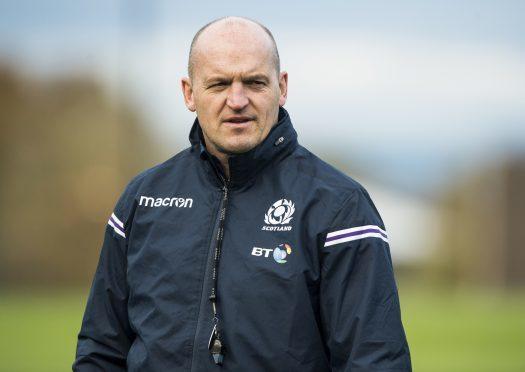 Head coach Gregor Townsend.