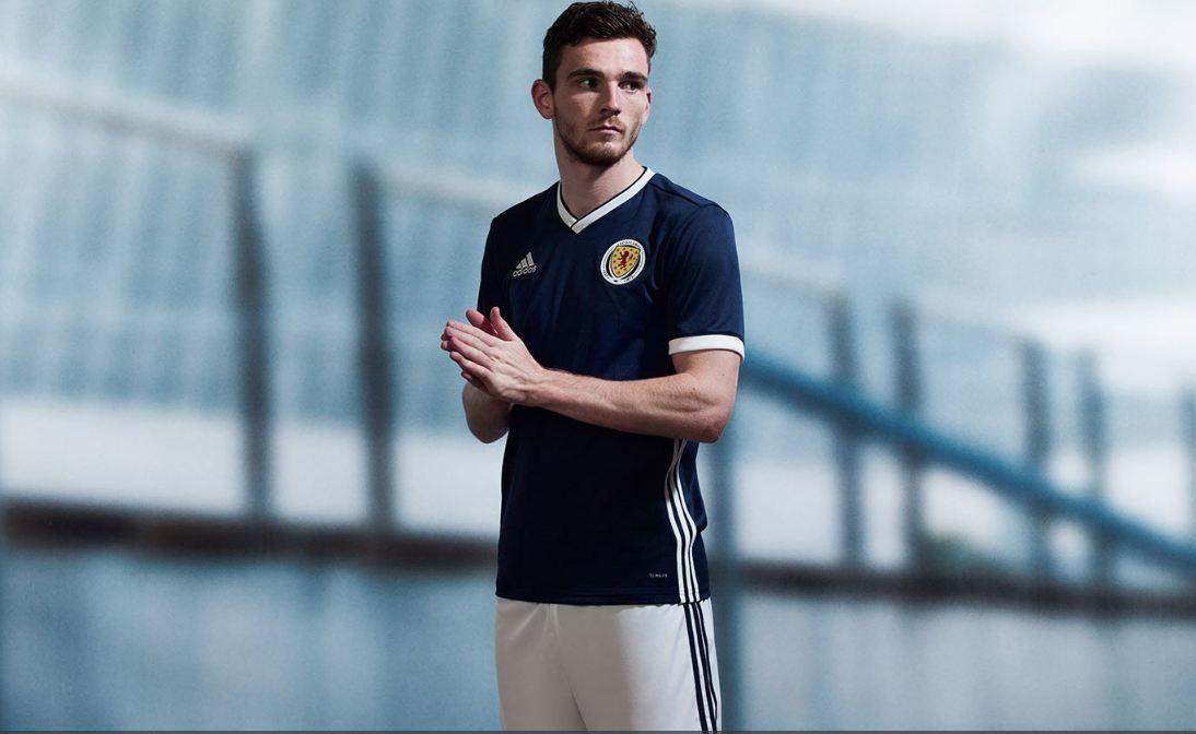 The new Scotland home shirt.