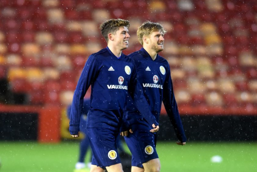 Ryan Christie and Stuart Armstrong.