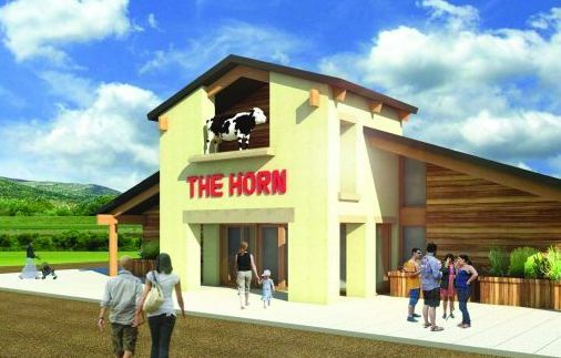 An artist's impression of the new Horn Milk Bar