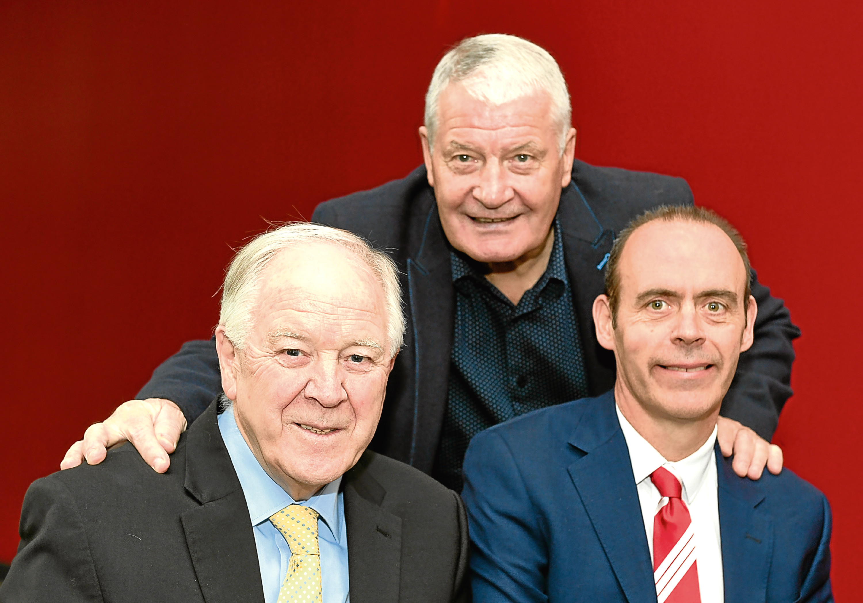 Craig Brown, Archie Knox and Graham Findlay, of NESS.