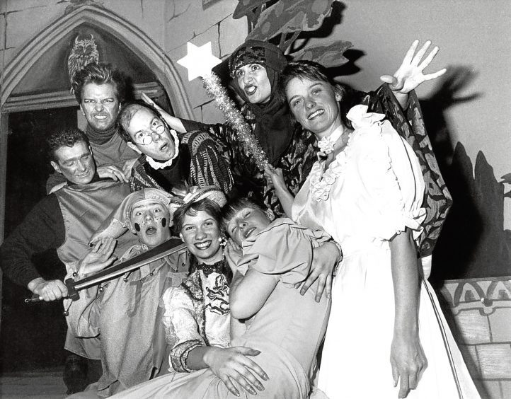 1991: The cast of Sleeping Beauty come together ahead of their upcoming performance at Aberdeen Arts Centre.
