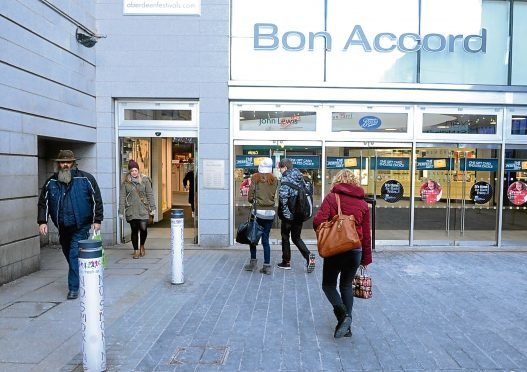 Waterstones is to move its shop into the Bon Accord Centre.
