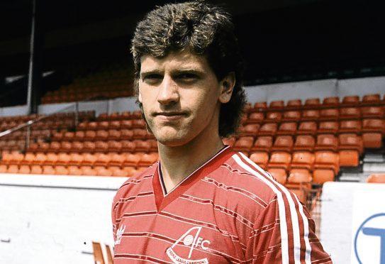 Eric Black, pictured in 1985.