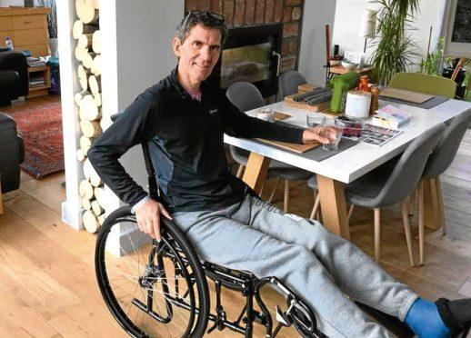 Alan Corsie at home