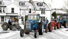 The Lower Deeside Festive Charity Road Run of vintage tractors raising money for local charities.